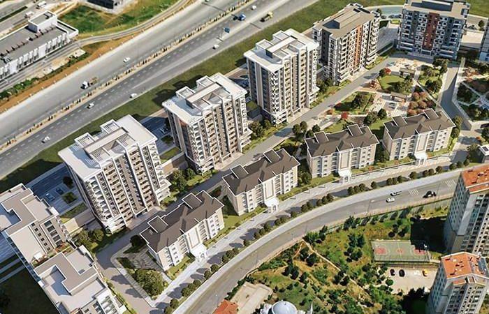 Başakşehir Avrasya Konutları İstanbul Emlak Projesi